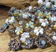 A small selection of wire wrapped opal jewelry from boho wire wrapped Jewelry On The Rocks