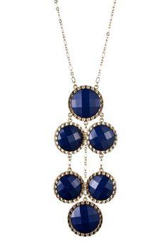 Acrylic Drop Necklace