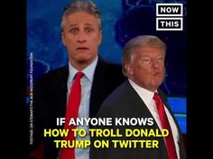 Jon Stewart's - How to Win a Twitter War with Donald Trump