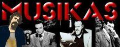 Los referentes de MUSIKAS........ Lester Bangs, Alan Freed,  Orson Wells y Nikola Tesla