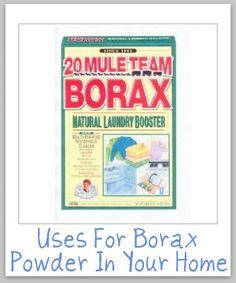 Borax Cleaners
