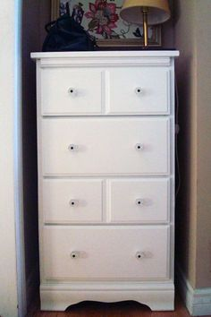 Best Berkeley Tall Narrow Chest Of 5 Drawers Grey Painted 640 x 480