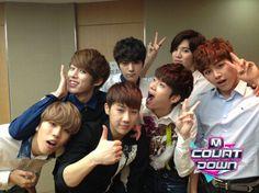 http://twitpic.com/cd28v5  인피니트 컴백 M COUNTDOWN 최초 공개! 5시간 전! 사랑에 빠진 일곱 남자 기대하세요!