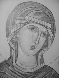 Madonna, Black And White, Drawings, Drapery, Painting, Cartoons, Shades, Templates, Facebook