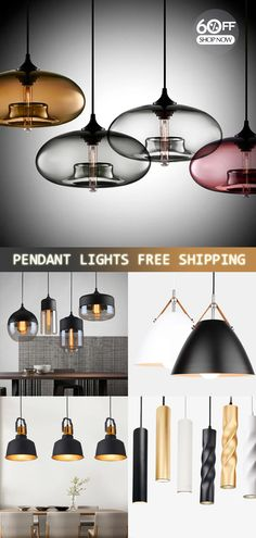 Pendant Lighting Designs and Ideas Home Lighting, Lighting Design, Pendant Lighting, Modern Lighting, Modern Hanging Lights, Deco Luminaire, Modern Pendant Light, House And Home Magazine, Cool Diy Projects