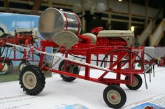 1/16 Ford 8n Sprayer