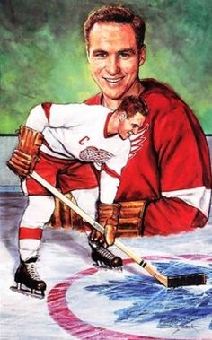 Hockey Legends Portrait - Red Kelly