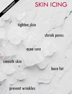 AMAZING BENEFITS OF SKIN ICING // In need of a detox? Get 10% off your @SkinnyMeTea 'teatox' using our discount code 'Pinterest10' at skinnymetea.com.au