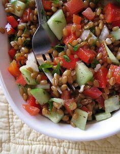 Wheat Berry Tabouleh