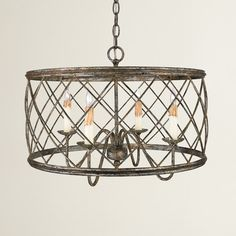 Found it at Joss & Main - Wanda 4-Light Drum Pendant ...Collection includes 3 styles