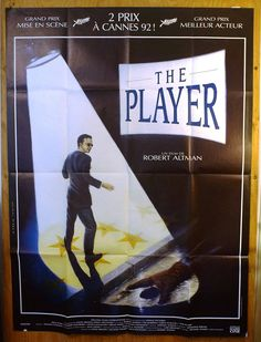 """The Player  French Subway Movie Poster  """"The Player"""" - R by MoviePostersAndMore on Etsy"""