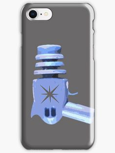 """Raygun"" iPhone Cases & Skins by RocketDesigns 