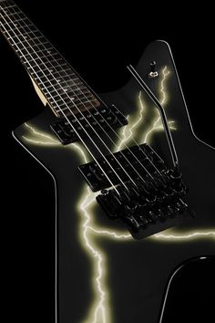 Dean Guitars Dimebag Black Bolt Floyd ML, Electric Guitar, Signature Model, Basswood Top/Body