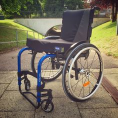 Kuschall Advance for one of our customers. #kuschall #wheelchair #wheelchairs #disability #disabled #blue #spokes