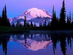 Sunrise Lake Tipsoo, Mt Rainier