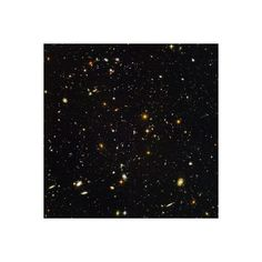 Hubble Ultra Deep Field Galaxies Photographic Wall Art Print ($40) ❤ liked on Polyvore featuring home, home decor, wall art, wall coverings, galaxy poster, mounted wall art, interior wall decor et photography posters