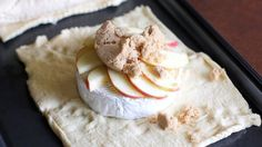 Crescent-Wrapped Baked Apple Brie Recipe - Tablespoon.com
