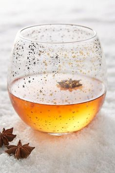 Make that a stiff drink. Whiskey, neat or on the rocks, is so much prettier in a subtly metallic glass. Starry night, anyone?Anthropologie Star Cluster Glass, $14, available at Anthropologie. #refinery29 http://www.refinery29.com/netflix-and-chill-products#slide-3