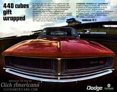 The 1969 Dodge Chargers