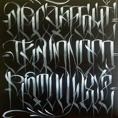 Chicano Let tering Tattoo Lettering Alphabet, Tattoo Lettering Styles, Graffiti Lettering Fonts, Chicano Lettering, Font Art, Cool Lettering, Script Lettering, Lettering Design, Lettering Ideas