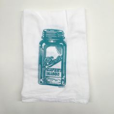 Ball Jar Tea Towel from Mid Coast Modern for $10.00
