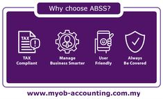 ABSS (formerly known as MYOB) is an easy to use, comprehensive accounting and business management solution. #myob #abss #accountingsystem #smallbusiness