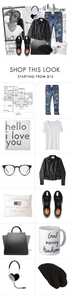"""""""Street style by FRANCESCA"""" by fran-guess ❤ liked on Polyvore featuring Abercrombie & Fitch, Sugarboo Designs, Étoile Isabel Marant, Spitfire, 3.1 Phillip Lim, Acne Studios, ZAC Zac Posen, Frends and Tarnish"""