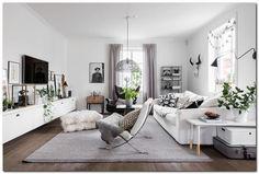 Gravity Home : Best of Living Rooms Here are my favourites. Room Interior, Interior Design Living Room, Living Room Designs, Design Interior, Interior Designing, Home Living Room, Apartment Living, Living Room Decor, Deco Studio