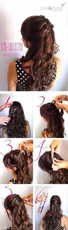 Half-Up Half-Down Hair Tutorials 2014 img7265462443cacaf3d