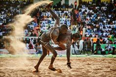 Gigantic grace: in the sands with Senegal's voodoo wrestlers | Art and design | The Guardian