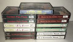 Lot 13 Vintage Classical Music Cassette Tapes Orchestra Contemporary Songs