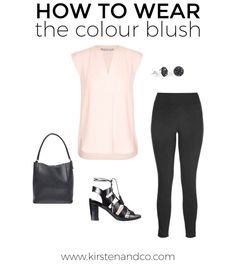Love the colour blush but not sure how to wear it? Same! But don't worry I've done some research and put together a outfit ideas for us both.