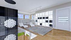 Projekt domu Dom z widokiem 269,44 m² - koszt budowy - EXTRADOM Big Houses Inside, House Inside, Luxury House Plans, Marquise, Living Room Modern, Modern House Design, Design Projects, New Homes, Furniture