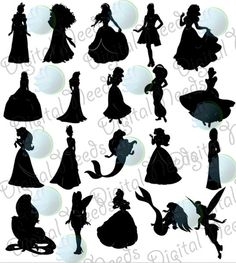 20 Silhouettes in png files and SOURCE Files 20 Black images 20 White Images. 6 inches tall ! ++++++++++++++++++++++++++++++++++++++++++++