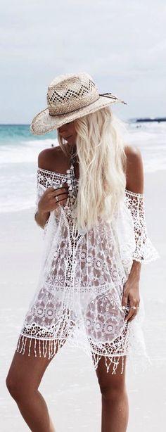 Boho summer style ≫∙∙☮ Bohème Babe ☮∙∙≪• ❤️ Curated  by Babz™ ✿ιиѕριяαтισи❀ #abbigliamento #bohojewelry #boho