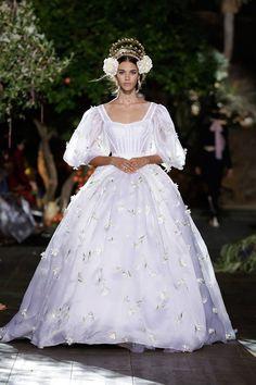 runwayandbeauty:  Pauline Hoarau -Dolce & Gabbana Alta Moda Fall 2015-16.