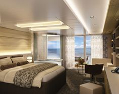 Norwegian Getaway Staterooms | Haven Spa Suite | Norwegian Cruise Line  A Girl can dream can't she??