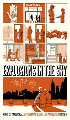 /// Explosions in the sky