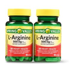 Featured Spring Valley L-Arginine 500 mg - Amino Acids Supplement - 100 Tablets L-Arginine Tablets Keep the Heart Healthy New Arrivals Health Diet, Health And Nutrition, Health And Wellness, Vitamin B12 Tablets, Listerine Foot Soak, L Arginine, Spring Valley, Best Doctors, Best Supplements