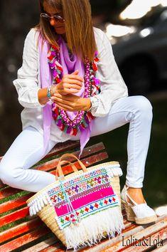 capazo strawbag,lolitaylola,boho chic,fashion,moda,indie