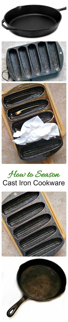 Cooking with Cast iron has so many advantages. See why to use it and also how to season cast iron cookware in my latest post.