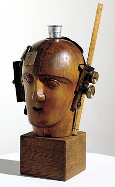 'Mechanical Head (The Spirit of Our Age) Raoul Hausmann, 1919.