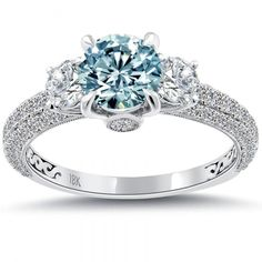 fd-222-1_2 60 Magnificent & Breathtaking Colored Stone Engagement Rings