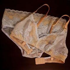 Darcey Bra & Binky Panties (Evie La Luve) Binky, Evie, Charlotte, Underwear, Bra, Sewing, Instagram, Dressmaking, Couture