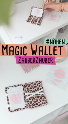 I'll show you how to sew a magic wallet. Informations About Magic Wallet nähen mit kostenlos Sewing Projects For Beginners, Knitting For Beginners, Sewing Tutorials, Sewing Hacks, Sewing Patterns Free, Free Sewing, Free Pattern, Hand Sewing, Fabric Crafts