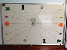 Halloween crossing midline activity while standing on a balance board Thanksgiving Activities, Halloween Activities, Autumn Activities, Halloween Ideas, Halloween Party, Gross Motor Activities, Activities For Adults, Ot Therapy, Vision Therapy