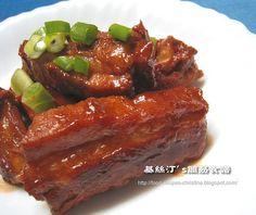 南乳五香炆排骨 Spicy Beancurb Pork Rib Stew