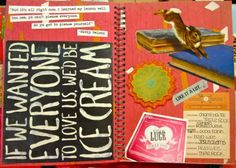 Inspiration Everywhere: My Red Smashbook Is Complete!
