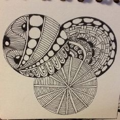 Zentangle Circles!!