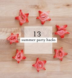 13 great summer party hacks